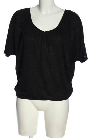 Sublevel Camicia oversize nero stile casual
