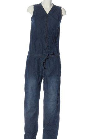Sublevel Langer Jumpsuit bleu style décontracté