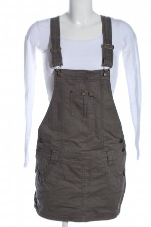Sublevel Pinafore Overall Skirt light grey casual look