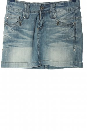 Sublevel Minirock blau Casual-Look
