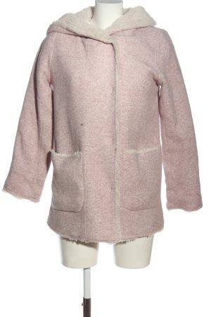 Sublevel Giacca in eco pelliccia rosa puntinato stile casual