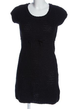 Sublevel Pulloverkleid schwarz Casual-Look