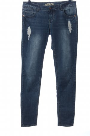 Sublevel Röhrenjeans blau Casual-Look