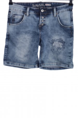 Sublevel Shorts blau Casual-Look