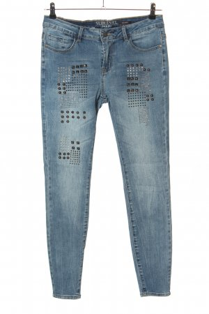 Sublevel Skinny Jeans blue casual look