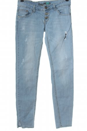 Sublevel Skinny Jeans blau Casual-Look