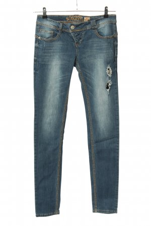 Sublevel Slim Jeans blau Casual-Look