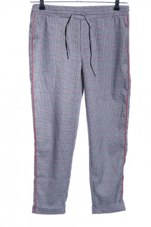 Sublevel Stoffhose Karomuster Casual-Look