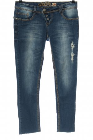 Sublevel Straight Leg Jeans blue casual look