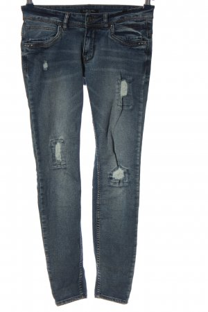 Sublevel Straight-Leg Jeans blau Casual-Look