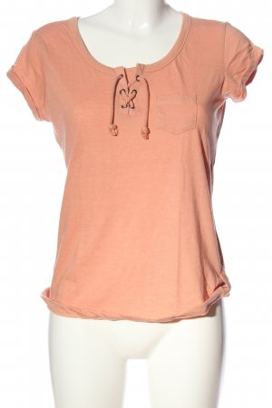 Sublevel T-Shirt hellorange Casual-Look