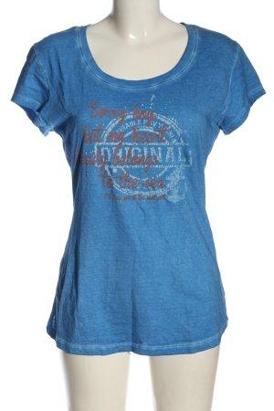 Sublevel T-shirt imprimé avec thème style décontracté