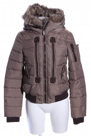 Sublevel Winterjacke bronzefarben Steppmuster Casual-Look