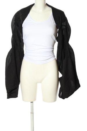 subtle Blusenjacke schwarz meliert Casual-Look