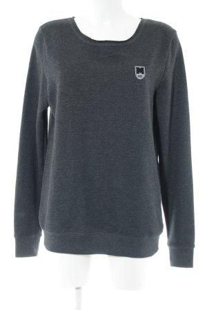 Suck My Shirt Sweatshirt hellgrau meliert Casual-Look