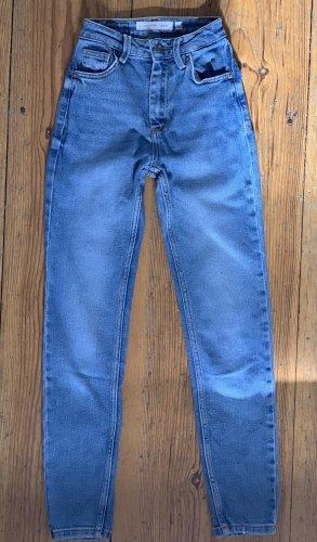 Subdued Jeans a vita alta blu