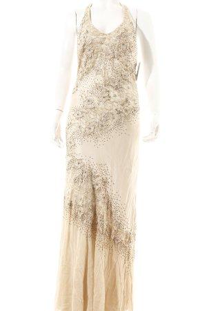Sue Wong Abendkleid creme Paillettenverzierung
