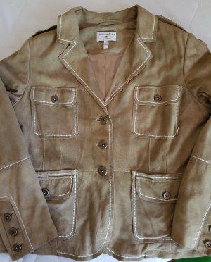 Rick Cardona NewYork Blazer in pelle beige Pelle