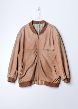 Suede Bomber in XXL