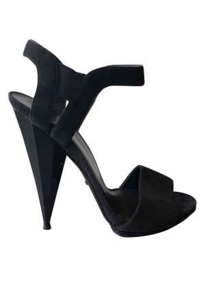 Suede Gucci Sandals