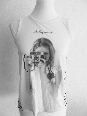 Süße ärmellose Bluse von Only