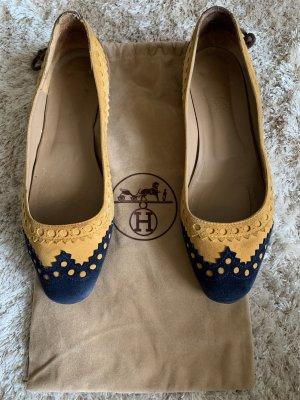 Süße Ballerinas aus Leder von Hermès