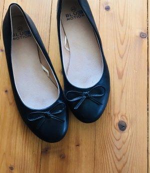Blue Motion Ballerines pliables noir