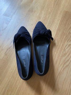 Paul Green Bailarinas con punta azul oscuro