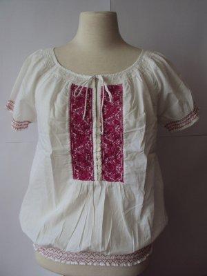 Süße Bluse Bohemian-Style