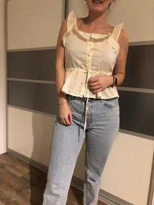 Süße Bluse in Beige/Creme von Vero Moda