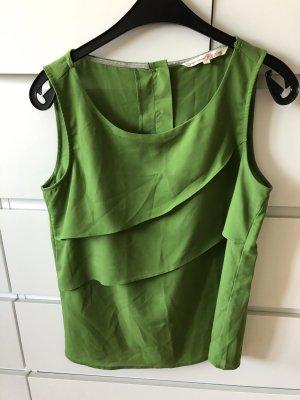 süsse bluse - tolles Grün S