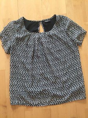 süße Bluse - Tunika in schwarz-weiß - Gr. 40 von Janina