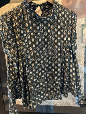 Süße Bluse vintage Look floral