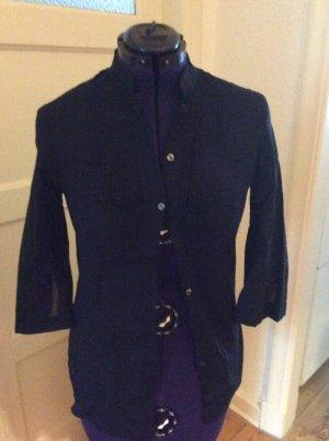 Karl Lagerfeld Blouse en lin noir