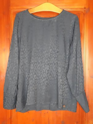 Nümph Blouse Shirt dark blue-blue polyester