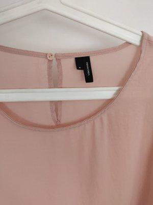 Süsse Bluse von Vero Moda neu in rosa mit Trompetenärmeln, Gr.M/38