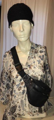 Viola Borghi Tie-neck Blouse multicolored silk