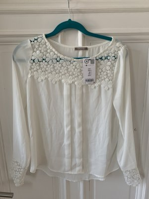 Orsay Blusa in merletto bianco