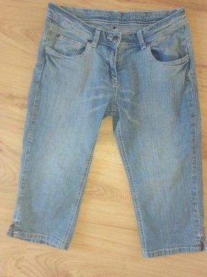 Tchibo / TCM 3/4 Length Trousers multicolored cotton