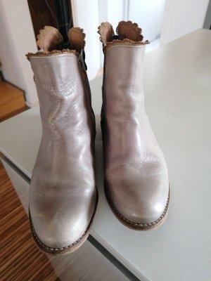 Chelsea Boots light grey-grey brown