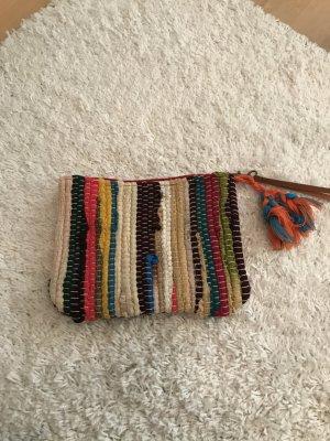Pochette multicolore coton