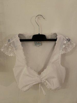 Stoiber Folkloristische blouse wit