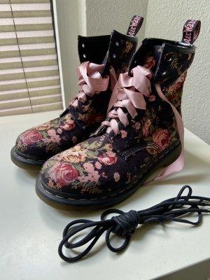 Dr. Martens Combat Boots black-dusky pink