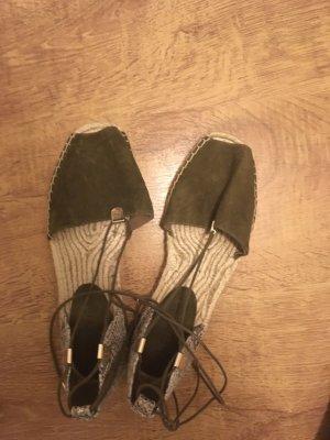 Aldo Espadrille sandalen khaki-beige