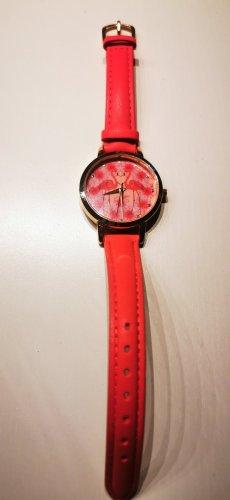 Süße Flamingo Armbanduhr pink rosa neu