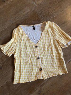 Süße gelbe Bluse Gr. 36