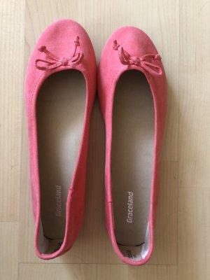 Graceland Mary Jane ballerina's roze-roze