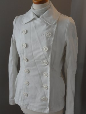 °°°Süsse H&M Military-Jacke, Jeans, weiss, Gr.40, TOP°°°