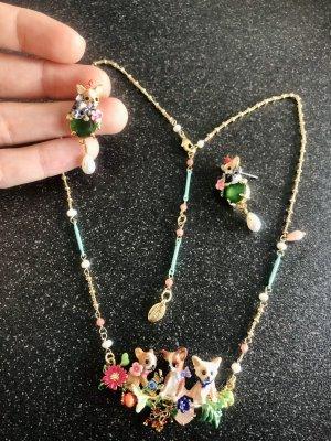 süße Halskette Chihuahuas Familie kleine Hunde Luxus Schmuck