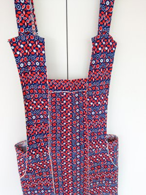 Handmade Tradycyjny fartuch  Wielokolorowy
